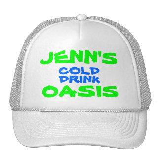JENN S COLD DRINK OASIS TRUCKER HAT