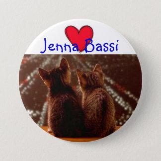 Jenna Bassi 7.5 Cm Round Badge