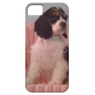 Jenna, Tri american cocker spaniel puppy iPhone 5 Covers