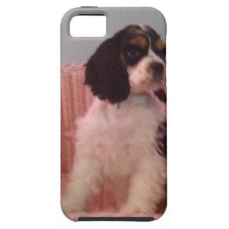 Jenna, Tri american cocker spaniel puppy Tough iPhone 5 Case