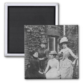 Jennie Jerome, later Lady Randolph Churchill Square Magnet