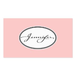 'Jennifer' Business Card