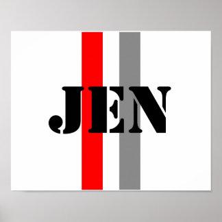 Jennifer Poster