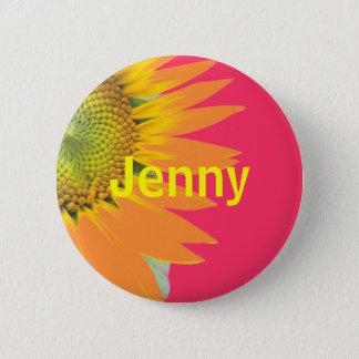 Jenny 6 Cm Round Badge