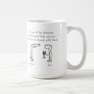 Jenny and Jax Coffee Mug