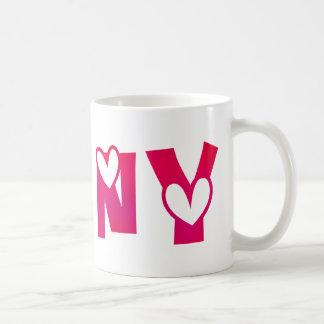 Jenny in Hearts Coffee Mug