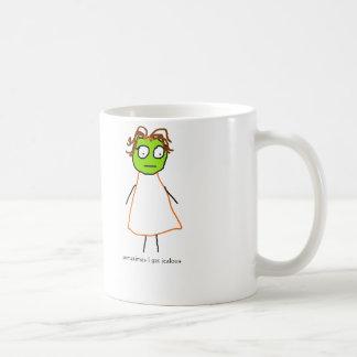 jenny quips: sometimes I get jealous Classic White Coffee Mug