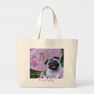 Jenny the Pug - Tote Bag