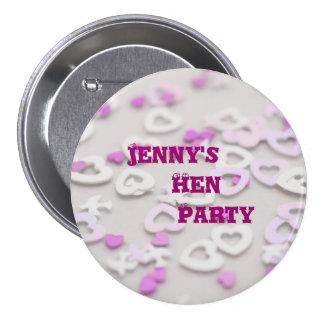 Jenny's Hen Party 7.5 Cm Round Badge