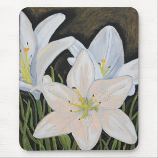 Jenny's Lillies Mouse Pad