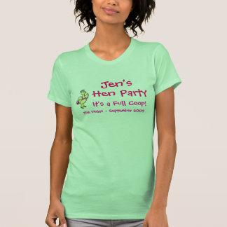 Jen's Hen Party - Hens Tanktop