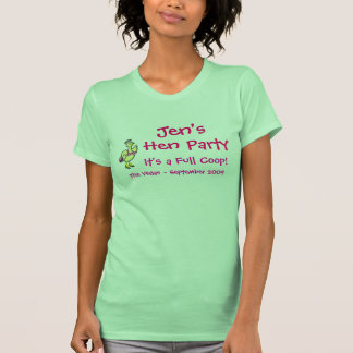 Jen's Hen Party - Hens Tshirts