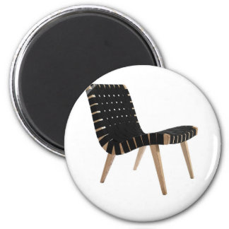 JENS RISOM by Knoll Mid-Century Modern Strap Chair Magnet