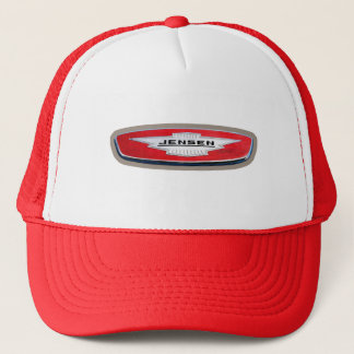 Jensen Cars Badge Trucker Hat