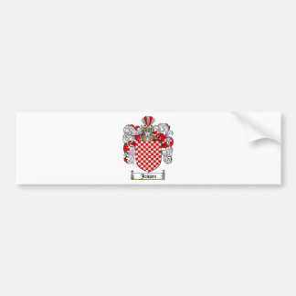 JENSEN FAMILY CREST -  JENSEN COAT OF ARMS BUMPER STICKER
