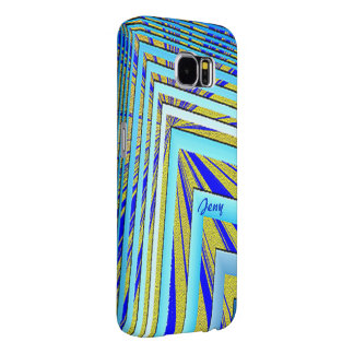 Jeny Geometric Style Galaxy cover Samsung Galaxy S6 Cases