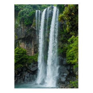 Jeongbang waterfall, South Korea Postcard