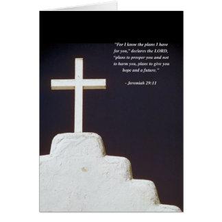 JEREMIAH 29:11 Bible Verse Card