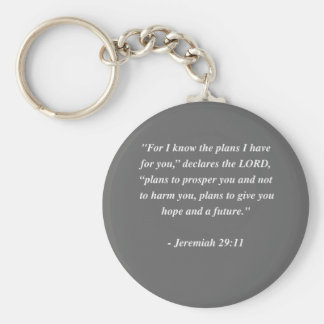 JEREMIAH 29:11 Bible Verse Keychains