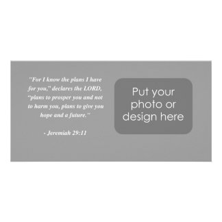 JEREMIAH 29 11 Bible Verse Picture Card