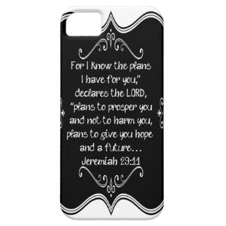 Jeremiah 29:11 Custom Christian Gift Case For The iPhone 5