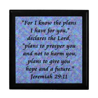 jeremiah 29-11 giftbox gift box