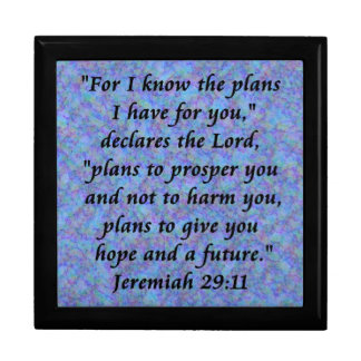 jeremiah 29-11 giftbox large square gift box