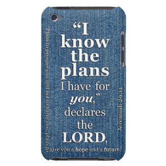 Jeremiah 29:11 I Know The Plans Bible Verse Barely There iPod Covers