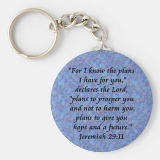 jeremiah 29-11 key ring
