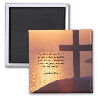 JEREMIAH 29:11 REFRIGERATOR MAGNET