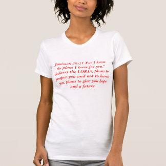 Jeremiah 29:11 t shirts