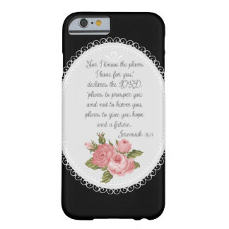 Jeremiah 29:11 Victorian Christian Gift Barely There iPhone 6 Case