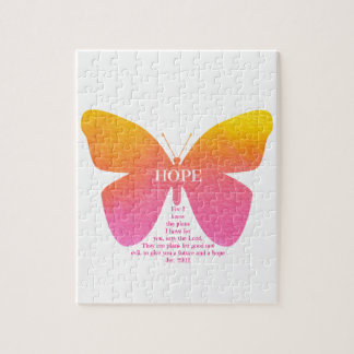 Jeremiah 29 Hope Butterfly Puzzle