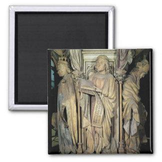 Jeremiah , David  and Zacharias Square Magnet