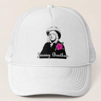 Jeremy Bentham with Tropical Flower Trucker Hat