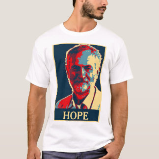 jeremy corbyn hope tshirt Add Your Text