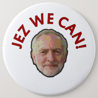 "Jeremy Corbyn ""Jez We Can"" Badge"