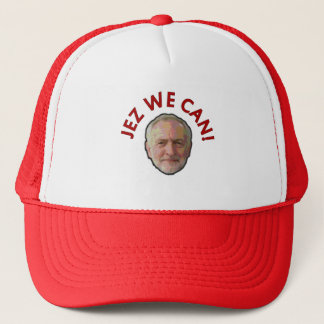 Jeremy Corbyn Jez We Can! Trucker Hat