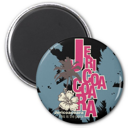 Jericoacoara T-shirts and gifts 6 Cm Round Magnet