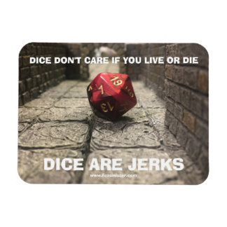 Jerk Dice Meme Magnet
