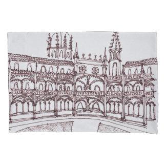 Jeronimos Monastery Cloister | Lisbon, Portugal Pillowcase