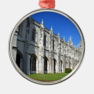 Jeronimos Monastery in Belem, Lisbon, Portugal Christmas Ornament