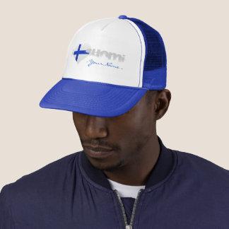 JERRILLA Design Truckerkappe I love Suomi Trucker Hat