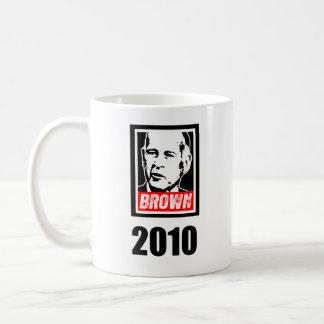 JERRY BROWN 2010 BASIC WHITE MUG