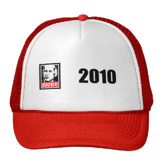 JERRY BROWN 2010 TRUCKER HAT