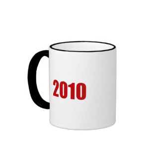 JERRY BROWN 2010 RINGER MUG