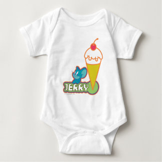 Jerry Ice Cream Baby Bodysuit