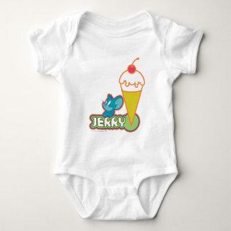 Jerry Ice Cream Baby Bodysuit