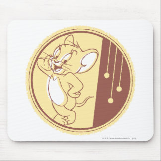 Jerry In Circle Mouse Mat