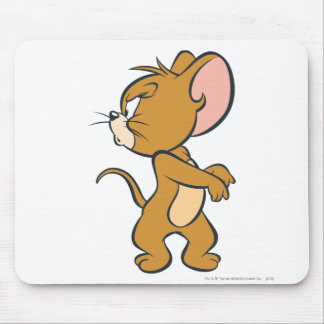 Jerry Looking Back Annoyed Mouse Mat
